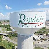 Rowlett water tower