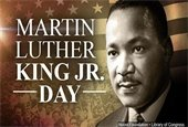 City Offices Closed for Martin Luther King Day