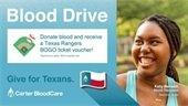 Blood Drive - Monday, July 26 @ Baylor Scott White