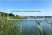 Lakefront at Pecan Grove Park Presentation and Survey