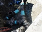 Force Main Sewer Pipe