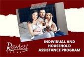 City of Rowlett Individual & Household Assistance Program