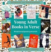 Young Adult Books in Verse - National Poetry Month