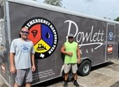 Rowlett Public Works Crew Helps in Hurricane Laura Recovery