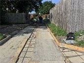 Alley Reconstruction -