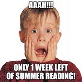 1 week of Summer Reading left!