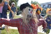 Scarecrows on Main