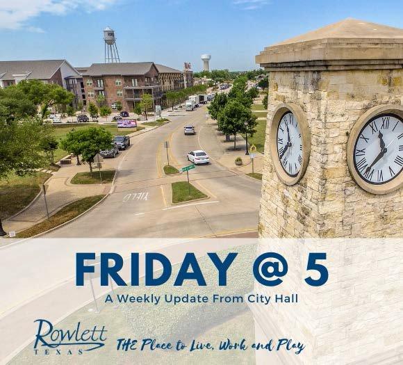 Friday at 5 Newsletter