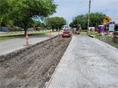 Rowlett Rd concrete replacement