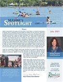 Mayor's Spotlight Newsletter for July 2021