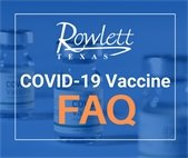 FAQ Sheet for Rowlett residents