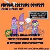 Rowlett Parks Virtual Halloween Costume Contest