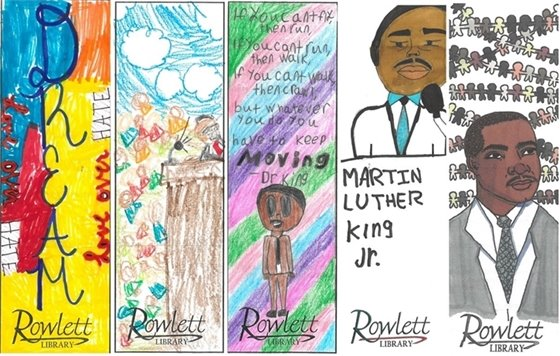 Martin Luther King Jr. Bookmark Contest