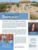 Mayor's Spotlight Newsletter for June 2021