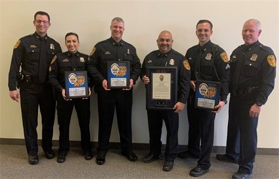Promotions in the Rowlett Police Department