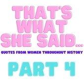 Celebrating Women's History Month Part 4