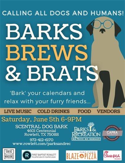 Barks Brews & Brats