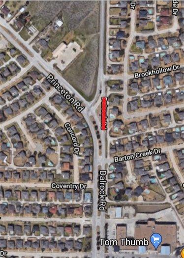 Dalrock Merge Lane Closed as of July 19