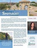 October Mayors Spotlight Newsletter