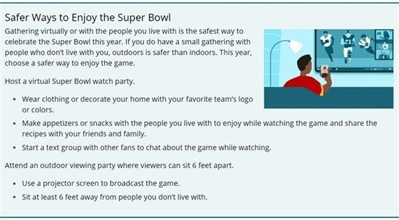 Safer Ways to Enjoy the Super Bowl