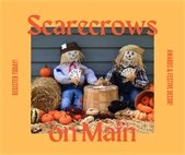 Scarecrows on Main Street in Rowlett