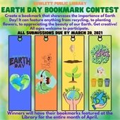 Earth Day Bookmmark Contest