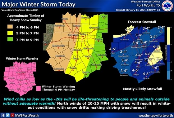 Winter Storm Today