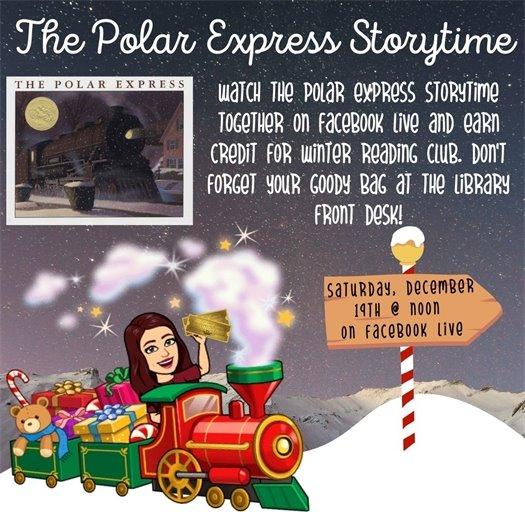 The Polar Express Storytime