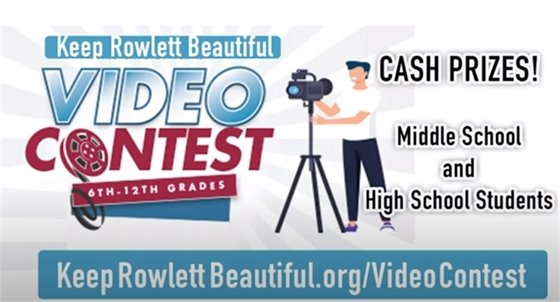 Keep Rowlett Beautiful Video Contest
