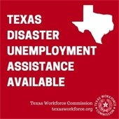 Texas Disaster Unemployment Assistance Available