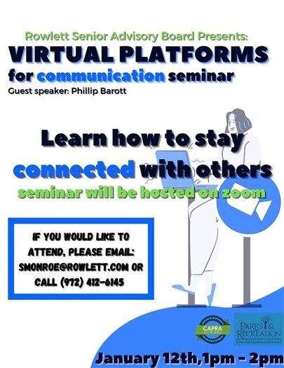 Virtual Platforms for Communication Seminar
