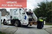Update on FCC Bulk Pickup
