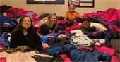 Rowlett Family Donates Almost 400 Coats