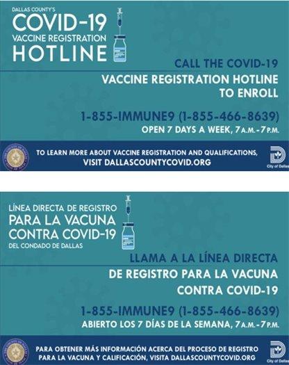 Dallas County Covid-19 Hotline