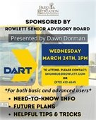 Learn Helpful Tips & Tricks for Users of DART