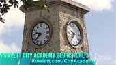 Rowlett City Academy Starts June 3