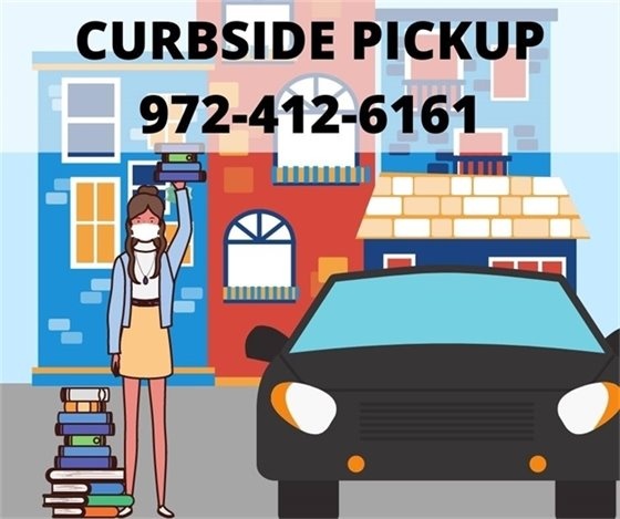 Library Open for Curbside Service Only