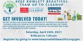 KRB Great American Cleanup - April 24