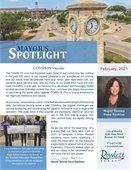 Mayor's Spotlight Newsletter for February 2021
