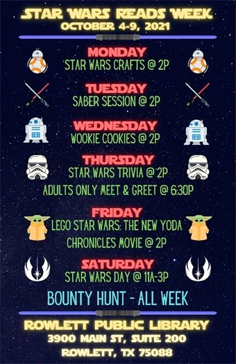 Star Wars Reads Week