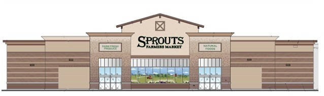 Sprouts Elevation Rendering