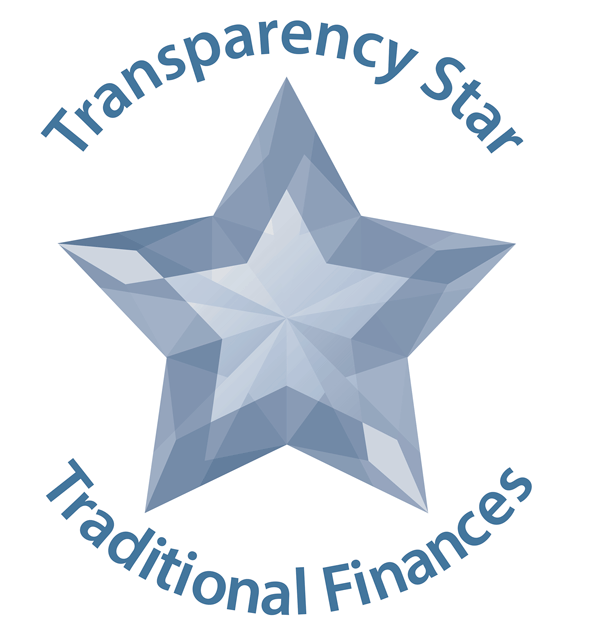 Transparency Stars Traditional Finances