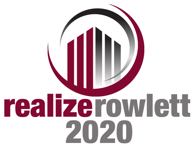 Realize Rowlett 2020 Logo