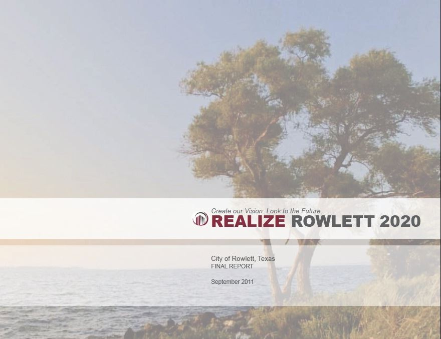 Realize Rowlett 2020 Cover