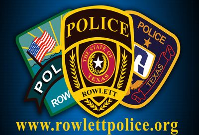 Rowlett Police Department patches