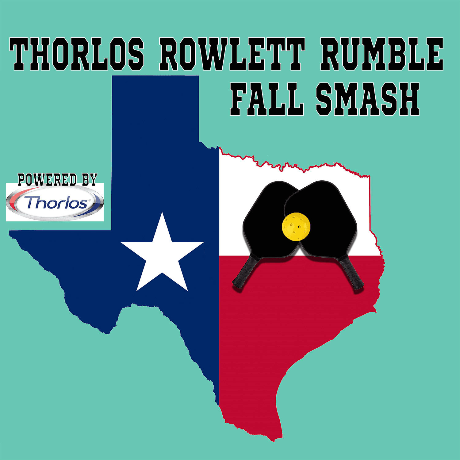 Thorlos Rowlett Rumble logo