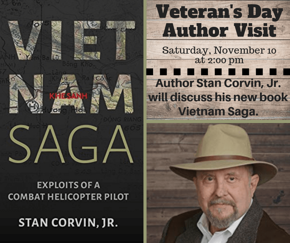 Veterans Day Author Visit