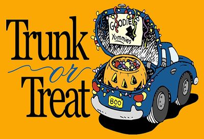 Library Trunk or Treat graphic