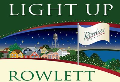 Light Up Rowlett logo