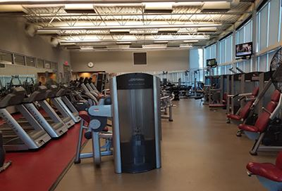 Rowlett Community Centre gym equipment